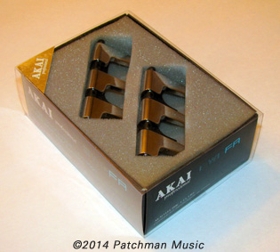 Akai EWI-FR EWIFR Finger Rest for EWI3000 and EWI3020 wind controllers at Patchman Music