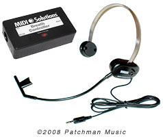 Breath Controller Box and Yamaha BC3a at Patchman Music