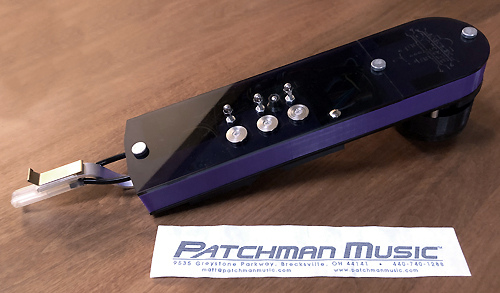 Berglund Instruments NuEVI NuRAD MIDI wireless wind controller at Patchman Music