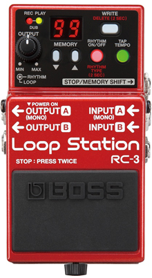 Boss RC-3 RC3 Looper Pedal jamman jam man wind controller Patchman Music