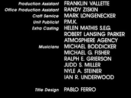 Judd Miller No Way Out Movie Screen Musician Credits