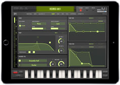 Korg iM1 iPad App iOS softsynth wind controller sound soundbanks breath controller from Patches Programs Soundbanks sounds at Patchman Music
