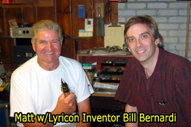Matt Traum and Bill Bernardi Lyricon inventor