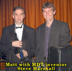 Matt Traum with Steve Marshall