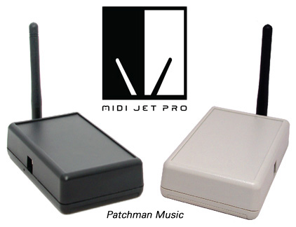 Midi Jet Pro USB Store at Patchman Music - MidiJet Pro USB Wireless