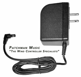 Roland PSD120 PSD-120 PSD 120 replacement AC adapter power supply for Aerophone AE-10G AE10G AE-10 AE10 wind controller windsynth EWI at Patchman Music