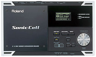 Roland Sonic Cell SonicCell wind controller Soundbanks patches programs sounds voices at Patchman Music