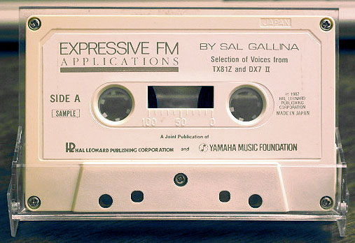 Expressive FM Applications Cassette