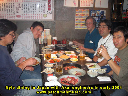 Nyle Steiner Dining In Japan