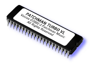 TURBO VL Patches Programs soundbanks sounds for Yamaha VL70-m at Patchman Music