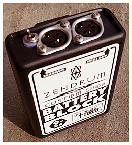 ZenDrum Zen Drum Battery Box Adaptor