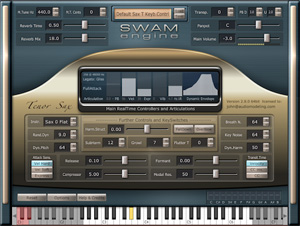 Audio Modeling SWAM Sample Modelling Virtual instruments AU VST wind controller sounds breath controller patches Kontakt soundbanks from Patchman Music