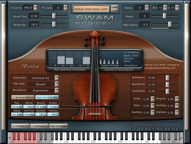 Patchman Music Audio Modeling SWAM Instruments Store
