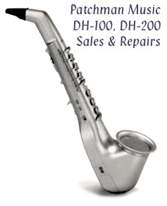 Casio Horn Repairs DH DH-100 fix squeal at Patchman Music
