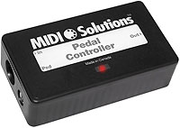 Midi Solutions Pedal Controller Patchman Music