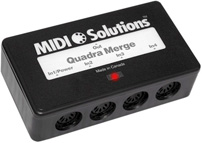 Midi Solutions Quadra Merge QuadraMerge Merger Patchman Music
