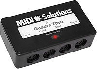 Midi Solutions Quadra Thru Patchman Music