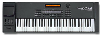 Roland XP-50 XP50 XP-60 XP60 XP-80 XP80 Patches voices programs sounds breath controlled wind controller at Patchman Music