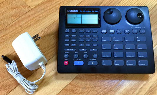 used Alesis SR-16 SR16 Drum machine rhythm box Patchman Music
