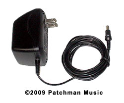 Casio DH-100 DH100 DH-200 DH200 AC Adaptor AD-1 Power supply replacement Sax Horn Parts at Patchman Music at Patchman Music wall wart dc ac