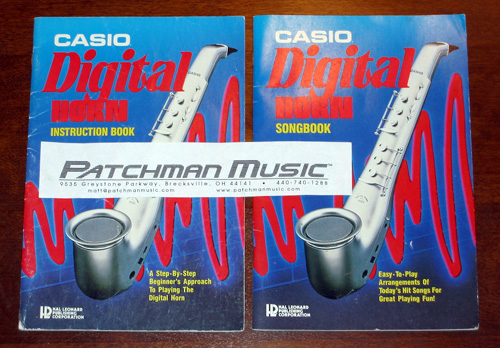 Casio DH-100 DH-200 Songbooks song books Instruction Manual Users user's owner's manual