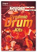 Roland SRX-01 SRX01 SRX1 Dynamic Drum Kits expansion card roland fantom xr for sale at Patchman Music