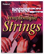Roland SRX-04 SRX-4 SRX4 SRX04 Symphonic Symphonique Strings Expansion card used at Patchman Music