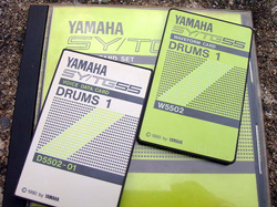 "SY55/TG55 ""Drums 1"" Voice Data and Waveform Card Set SY55 TG55 SY-55 TG-55 Drums 1 Voice Data and Waveform Card Set S5502"