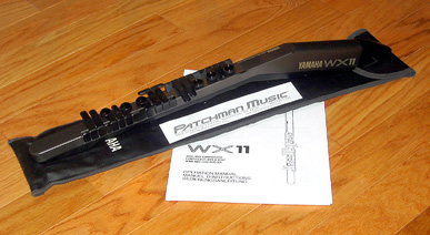 Used Yamaha WX11 and Cable at Patchman Music