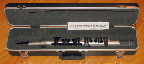 Used Yamaha WX5 WX-5 wind controller midi synth breath controlled manual case neck strap at Patchman Music