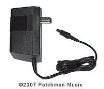 Replacement AC Adaptor for the Yamaha WT11 Yamaha PA1505 at Patchman Music